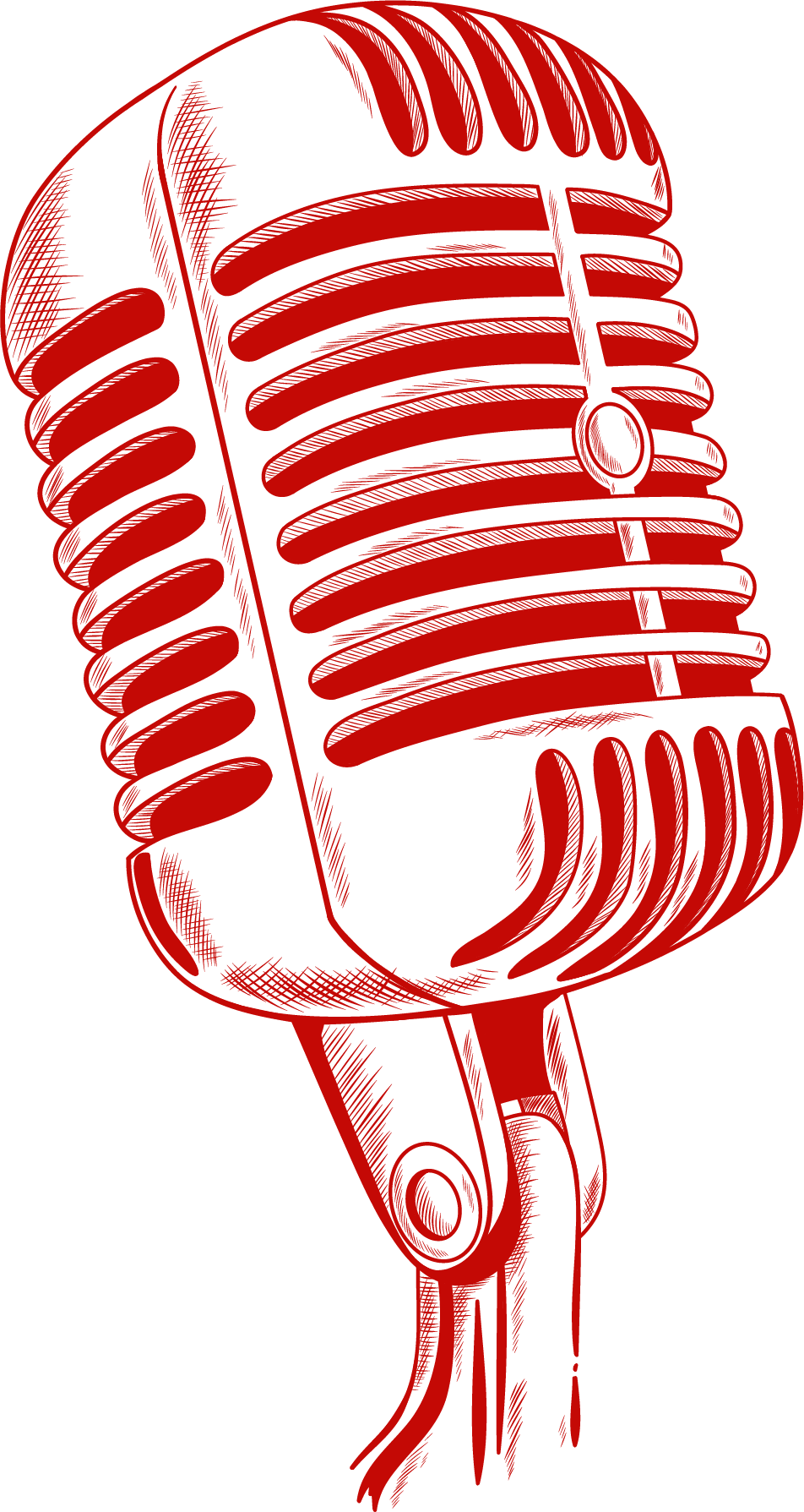 Microphone red left