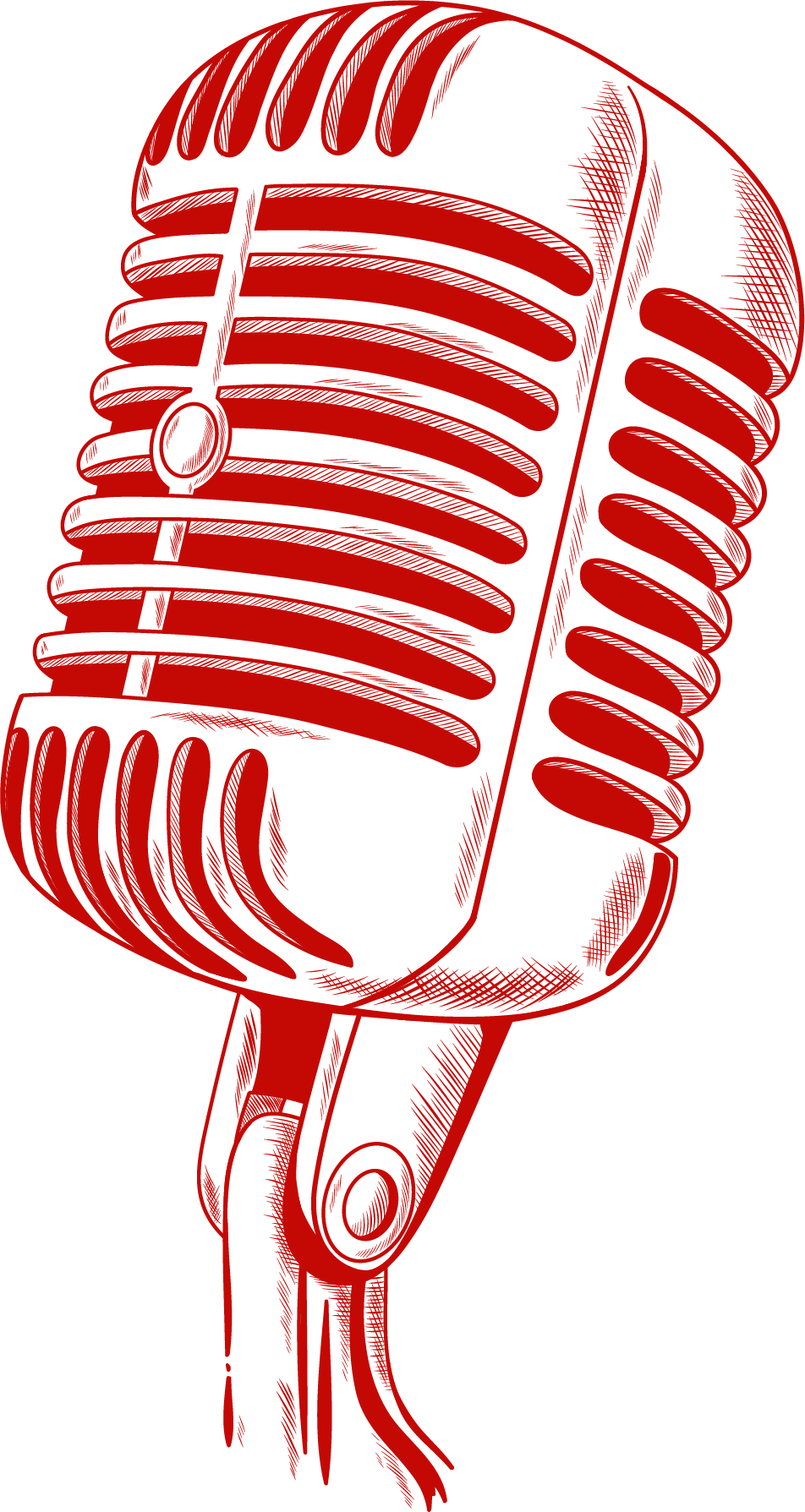 Microphone red right
